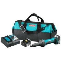 ingrosso morire il kit-Kit smerigliatrice a batteria al litio a ioni di litio Makita XDG01T 18-Volt 1/4-inch 5.0Ah