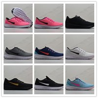 Wholesale barefoot shoes for women resale online - Hot light weight free RN mesh breathable running shoes barefoot casual shoes for mens women breathable fashion sports Sneakers