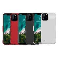 чехол для телефона fedex оптовых-Для iPhone 11 Pro Max 5200 Mah корпус батареи портативного телефона резервного перезаряжаемый Расширенного зарядное устройство в случае с розничным пакетом DHL FEDEX