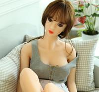 mannequin sprengen liebe puppe großhandel-Adult Sex Dolls Real Love Aufblasbare Sexpuppe für Männer Blow Up Doll halbe feste Sexspielzeug
