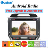Wholesale For KIA Sportage Android din car dvd player radio stereo gps navigation wifi map rear view camera