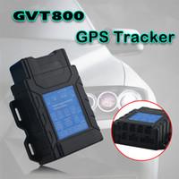 alarmantenne großhandel-3G-Beschleunigungsmesser GVT800 wasserdicht IP65 programmierbar 8 MB Flash-Speicher GPS Peonal Tracker mit GPS-Antenne Stromausfall-Alarm