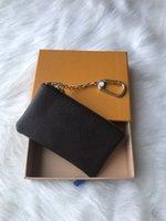 ingrosso portafogli in pelle per chiavi-Portafoglio di design in stile francese portafogli in pelle e cuoio per uomo mini portafoglio senza scatola