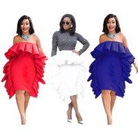 c6244b17edd0b Seksi Kadınlar Yaz Elbiseler Straplez Kapalı Omuz Dantelli Seksi Mini Elbise  Bayanlar Vestidos Robe Femme Bandaj Fabrika Ucuz Fiyat