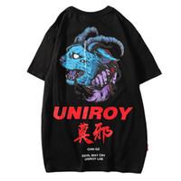 Wholesale devil t shirt for sale - 2019 T Shirt Blue Devil Men Hip Hop T 29eb4d2f9