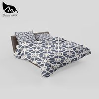Wholesale comforters for beds online - Dream NS Simple Nordic Geometric Bedding Set For Bedroom Children Room Cover Bedding Sheet Pillow For Simple Bed Cover Set