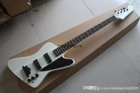 Wholesale thunderbird guitars for sale - Group buy New Top Quality White Thunderbird Strings Electric Bass Guitars with EMG pick up
