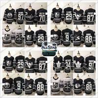 Wholesale 88 games resale online - 2019 NHL All Star Game Ice Hockey Jersey Connor McDavid John Tavares Patrick Kane Braden Holtby S XL