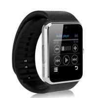 браслет bluetooth часы для iphone оптовых-Спорт GT08 SmartWatch со слотом для SIM-карты Android Smart Watch для Samsung IOS Apple iPhone Смартфон Браслет Bluetooth-часы