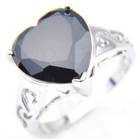pandora anello cuore nero