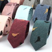 gravatas verdes prateadas venda por atacado-Laços de moda para Homens Casuais de Algodão Gravata Para Gravata De Casamento Gravatas para Homens De Negócios Skinny Gravata Gravata