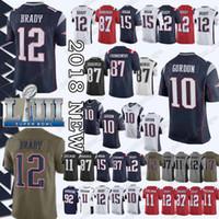 Wholesale tom brady jersey for sale - Cheap sales New Patriot Tom Brady  Jersey Julian Edelman 0f82aae43