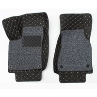 Wholesale trunk liner carpet for sale - Group buy 3pcs Full Set Surround Car Floor Mat Boot Rear Trunk Cargo Liner Tray Carpet for Smart fortwo