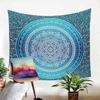 Wholesale home decor hanging crystals for sale - Group buy Crystal Arrays Wall Hanging Tapestry Bohemia Floral Wall Carpet Home Decor Polyester Soft cmx150cm cmx200cm