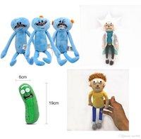 anime mädchen junge spielzeug großhandel-25cm Rick und Porty Pickle Rick Animation Puppen Plüsch Puppen Jungen und Mädchen Spielzeug und Geschenke Anpassung