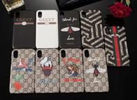 ingrosso casi di iphone della farfalla-Cassa del telefono di modo per IPhone XS MAX XR X 8 7 6plus 6s Plus Bee Snake Fiore di farfalla Modello animale Custodia per smartphone per IPhoneX 8P 7Plus