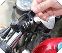 telefones dos eua venda por atacado-Acessórios da motocicleta adaptador de carregador de telefone móvel à prova d 'água para YAMAHA FJR 1300 R6S CANADÁ VERSÃO R6S EUA VERSÃO 200