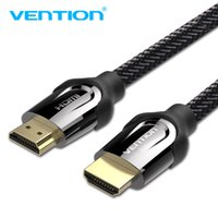 Wholesale cable 4k 5m for sale - Group buy Vention HDMI to HDMI Cable K D FPS for HD TV LCD Laptop PS3 Computer Cables m m m m m