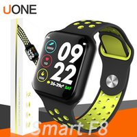 Wholesale bracelet for sports online – For iwatch F8 Smart Watch Men IP67 Waterproof Heart Rate Monitor Fitness Tracker Smart Bracelet Smartwatches Sports Band For iPhone Android
