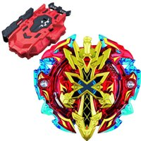 Wholesale Beyblade BURST B Starter Xeno Excalibur M I New Kids Toy Top LR Red Bey Launcher