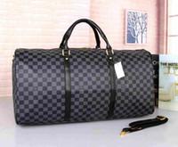 bc54413b593a Wholesale designer luggage online - 2018 new fashion men women travel bag  duffle bag brand designer