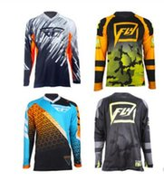 Wholesale cycling xs resale online - Mountain bike cycling wear quick drying wicking long sleeved T shirt breathable off road shirt downhill suit