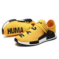 running shoes online al por mayor-2019 Cheap NMD Online Human Race 1.0 Venta al por mayor Pharrell Williams X Sports Running Shoe discount Athletic Athletic Shoes