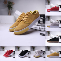 Wholesale janoski rubber shoes resale online - NEWEST SB ZOOM Stefan Janoski RM women casual Shoes Triple s red Sports Mens Trainers retro Designer Plate forme Skateboard Sneakers