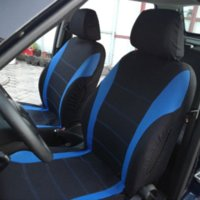 Wholesale VODOOL Set Universal Car Seat Cover Polyester Car Front Back Seat Cushion Covers Protector Car Styling Interior Accessories