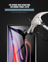 защитный экран для защиты от ударов tpu оптовых-Мягкая прозрачная полная крышка края ТПУ ЖК-экран протектор для Samsung Galaxy S10 Plus Huawei V20 Xiaomi Mi9 Anti-shock hydrogel Защитная пленка