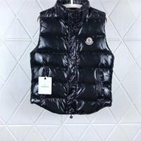 colete homens hoodie venda por atacado-Wen Designer Jaqueta Coletes Para Baixo Casaco Com Capuz Luminosa À Prova D 'Água Para Homens E Mulheres Marca Blusão de Luxo Casaco Com Capuz Jaqueta Grosso