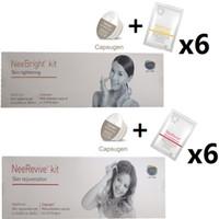 máquina anti acné al por mayor-Máquina facial con kit Kit de tratamiento del acné Consumibles / kit de blanqueamiento y antienvejecimiento / Nee Revive / Nee Bright POR DHL y EMS envío gratis