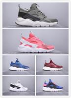 id zapatos deportivos al por mayor-Barato unisex Huarache de ante ID capacitadores para los hombres huaraches Patín capacitadoras para mujer Hurache zapatillas de deportes femenino Chaussures