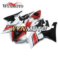 conjunto de plástico yamaha r6 venda por atacado-Motocicleta Completa Carenagens Para Yamaha YZF 600 R6 2008 - 2016 09 10 11 12 13 14 15 ABS Plástico Injecção Motocicleta Vermelho Branco Preto Novo conjunto