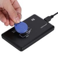 Wholesale sensor rfid for sale - Group buy 125Khz RFID Reader EM4100 USB Proximity Sensor Smart Card Reader for Access Control
