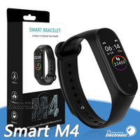 Wholesale mi 4 watch for sale - Group buy M4 Smart Band Fitness Tracker Watch Sport bracelet Heart Rate Smart Watch inch Smartband Monitor Health Wristband PK mi Band