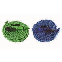 magische schlauchrohre großhandel-100FT Gartenschlauch erweiterbar magischer flexibler Wasserschlauch Rohr Bewässerungs-Spritzpistole für Auto Garten Drop ZZA312-1