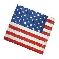 держатели для флагов оптовых-Серпантин женщины мужчины PU кожаный кошелек короткие кошельки флаг шаблон Моды унисекс дешевые маленькая сумка держатель карты
