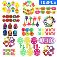 Wholesale birthday party giveaways for sale - Group buy 108PCS Kids Birthday Party Favors Pinata Filler Giveaways Assorted Small Toys Set Classroom Treasure Box Party Gift Favors