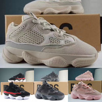 bebek oğlan yeşil ayakkabısı toptan satış-Yeni Çocuklar Kanye West V2 Dalga Runner 500 Koşu Ayakkabı 700 Bebek Kız Erkek Trainer Sneakers Çocuklar Atletik Ayakkabı Siyah Yeşil Ayakkabı