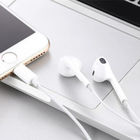 Wholesale iphone 5s headsets resale online - In Ear Headphones Wired Bluetooth Earphone for Apple IPhone X XR XS Max S Plus S Earbuds with Microphone Ear Phone