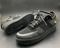 Wholesale genuine leather women shoes drop shipping for sale - Group buy Drop shipping Forces Volt Running Shoes Women Mens Trainers Forced One Sports Skateboard Classic Green White Black Warrior Sneakers