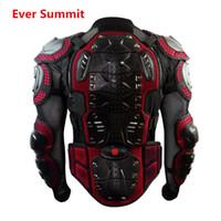 motocicleta protetor engrenagem venda por atacado-2019 Profissional Da Motocicleta Body Armor Jacket Peito de Volta Protetor de Equipamentos Off-road de proteção Anti-queda Ciclismo Roupas de Corrida Qualidade Homem