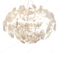 küche deckenleuchten großhandel-Wonderland Moderne LED-Acryl-Deckenleuchten Hoffnung Luster Luxus Lampe für Wohnzimmer Haus Küche Schlafzimmer Hote