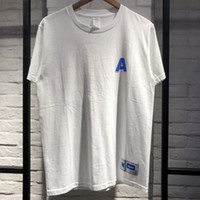ingrosso migliori uomini di camicia nuova di stile-2019 Adererror Uomo Donna T-shirt Migliore qualità lettera A estate Stile Moda Casual Nuovo Ader Errore T-shirt Adererror Top Tee