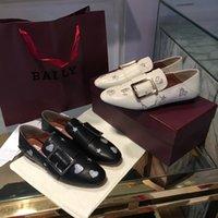 arbeit müßiggänger großhandel-Top luxuriöse Frauen Kleid Schuhe Oxford Schuh formale Arbeit Schuhe schwarze Wohnungen Slipper Retro Schuhe aus echtem Leder Damen Schuhe Hochzeit Müßiggänger