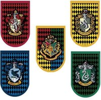 Wholesale harry potter painting for sale - Group buy 60 cm Harry Potter Flag Gryffindor Magic Four Colleges Rounded Corner Flag Decoration Flag Hanging Painting EEA647