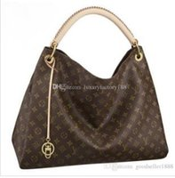 Wholesale wedding handbags free shipping for sale - Group buy Fashion Louis Artsy women leather Handbag Shoulder Bags top quality shopping tote bags purse wallet L40243