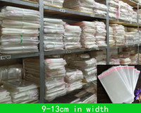 10*17.5cm 10*22.5cm 11*19.5cm 1000pcs Packing bags flap seal self adhesive poly bag Cellophone pouches opp packaging clear Plastic pouch