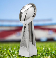 Wholesale football trophy for sale - Group buy New cm cm cm American Super Bowl Football Trophy American Football Trofeo Champions Team Trophies And Awards